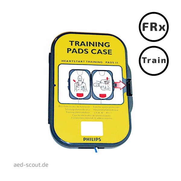 Philips AED FRx Trainingselektroden in Box