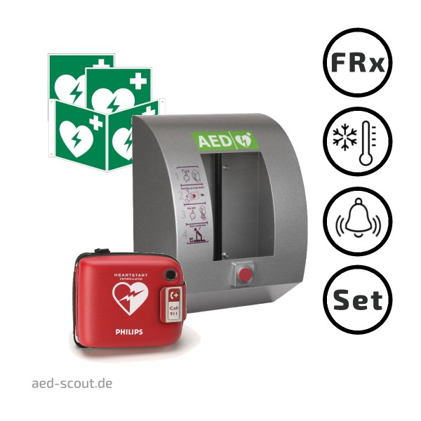 Philips AED FRx Paket Outdoor
